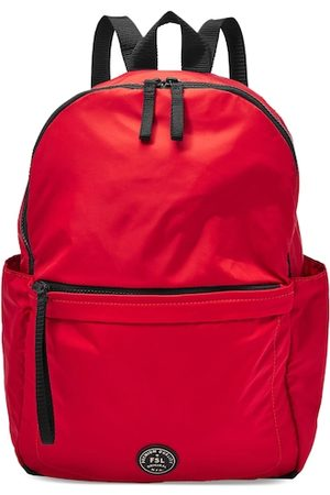 Fossil Men Red Solid Backpack