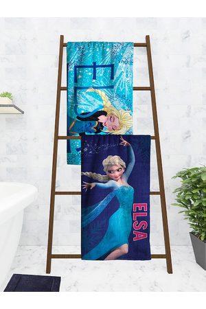 Disney Kids Set Of 2 Printed 350 GSM Bath Towels