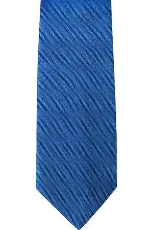 Blacksmith Men Blue Skinny Tie