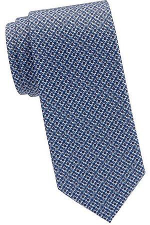 Salvatore Ferragamo Men Neckties - Tonal Gancini Silk Tie