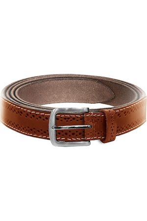 WildHorn Men Tan Textured Leather Belt