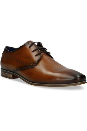 Bugatti Men Brown Solid Leather Formal Derbys