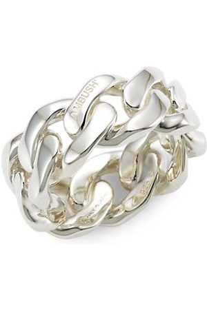 "AMBUSH Men Rings - Sterling Silver ""Chain 3"" Ring"