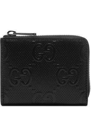 Gucci Men Wallets - GG Monogram Zip Wallet