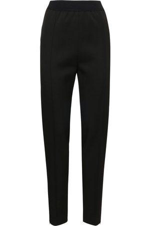 Jil Sander Light Wool Gabardine Straight Leg Pants