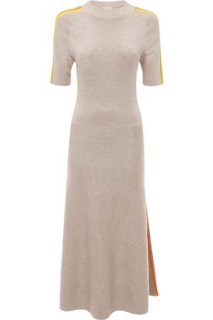 GABRIELA HEARST Cashmere & Silk Knit Midi Dress