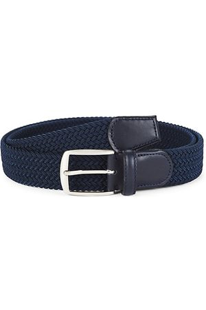 Saks Fifth Avenue COLLECTION Solid Woven Belt