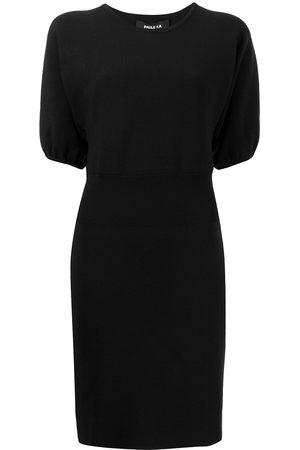 Paule Ka Women Knitted Dresses - Pufff-sleeve knitted dress