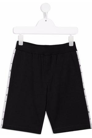 Emporio Armani Logo tape track shorts
