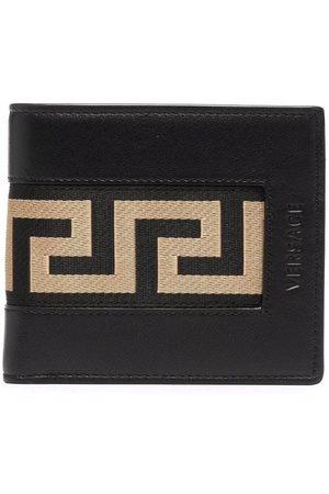 VERSACE Greca leather bi-fold wallet