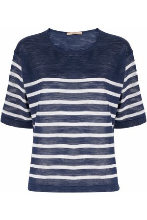 Nuur Stripe-print T-shirt