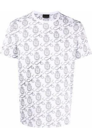 Billionaire Men Short Sleeve - Snake-print logo T-shirt