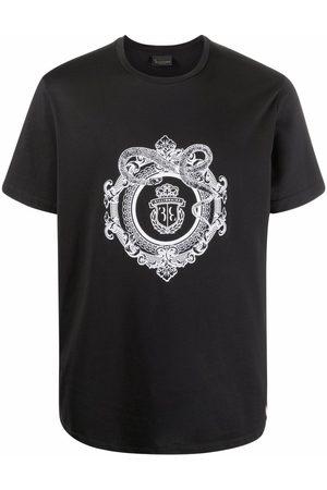 BILLIONAIRE Crest-print cotton T-Shirt