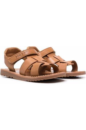 Pom d'Api Boys Sandals - Cut.out leather sandals
