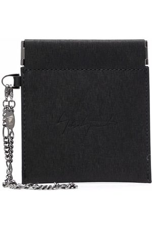 YOHJI YAMAMOTO Wallets - Spring Mouth leather coin pouch