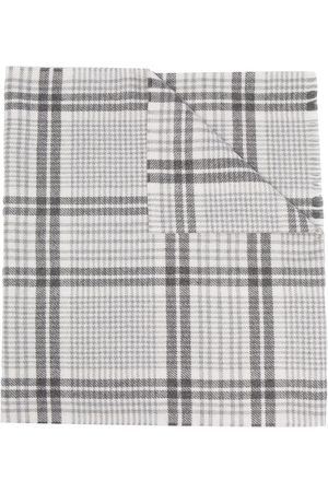 Brunello Cucinelli Men Scarves - Plaid-check scarf
