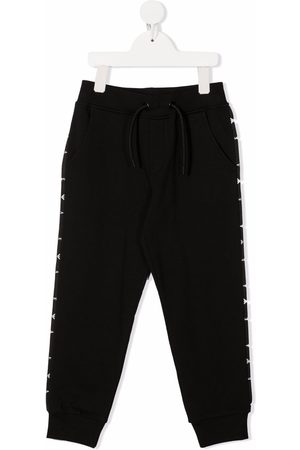 Emporio Armani Boys Trousers - Side stripe-detail track pants