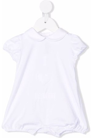 LITTLE BEAR Embroidered stretch-cotton shorties