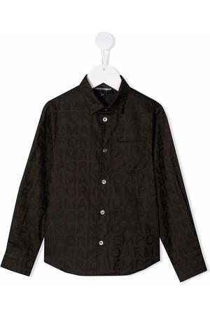 Emporio Armani Boys Long Sleeve - Classic button-up shirt