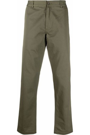 Universal Works Men Trousers - Mid-rise straight-leg trousers