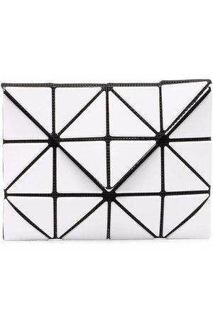 Issey Miyake Men Wallets - Geometric-panelled bifold wallet