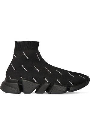 Balenciaga 30mm Speed Knit Sneakers