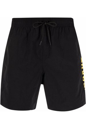 Barbour Men Sports Shorts - Logo fitted shorts
