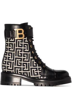 Balmain Ranger Romy monogram boots