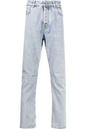 Brunello Cucinelli Men Straight - Stonewashed straight-leg jeans