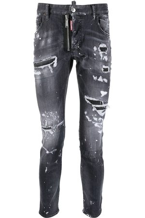 Dsquared2 Trash low-rise skinny jeans
