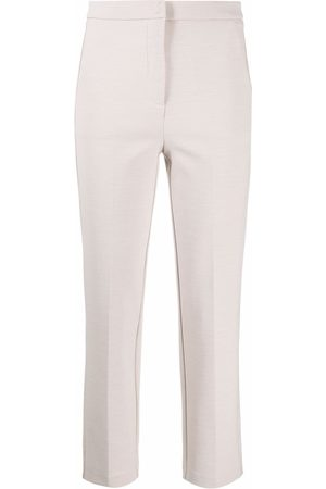 Patrizia Pepe Stretch-fit cropped trousers