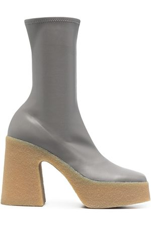 Stella McCartney Skyla stretch platform boots