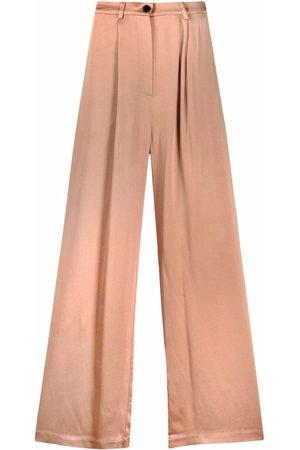 12 STOREEZ Wide-leg palazzo trousers