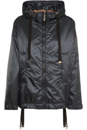 Max Mara Women Jackets - Hooded Waterproof Tech Puffer Jacket