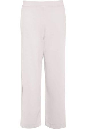 Max Mara Stretch Jersey Cropped Wide Leg Pants
