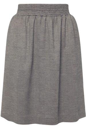 Max Mara Women Mini Skirts - Wool & Viscose Jersey Mini Skirt