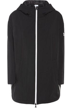 Max Mara Women Jackets - Nylon Canvas Waterproof Down Jacket