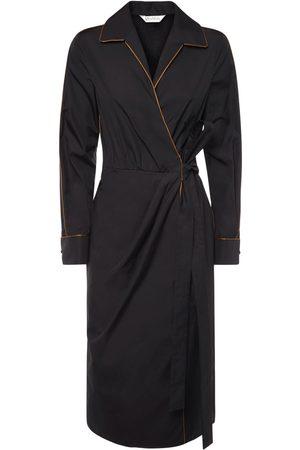 Max Mara Women Midi Dresses - Amadeus Cotton Poplin Midi Dress