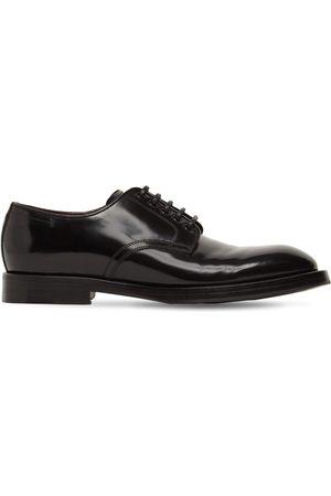 Dolce & Gabbana Men Footwear - Michelangelo Leather Lace-up Derby Shoes