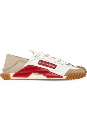 Dolce & Gabbana Men Sneakers - Ns1 Mesh & Suede Sneakers