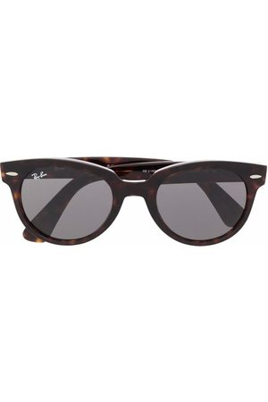 Ray-Ban Orion tortoise-shell round sunglasses