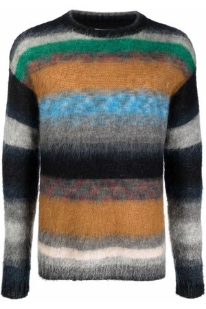 Zadig & Voltaire Men Jumpers - Loris striped knitted jumper