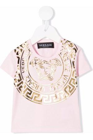 VERSACE Medusa Head-print T-shirt