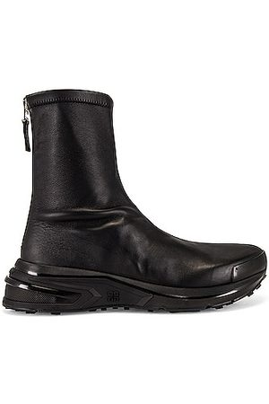 Givenchy Leather Sock Sneaker in