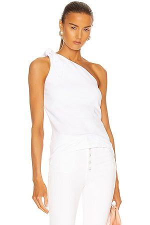 THE RANGE Knot One Shoulder Tank in