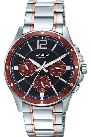 Casio Men Watches - Enticer Men Brown Analogue watch A1650 MTP-1374HRG-5AVIF