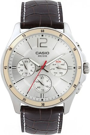 Casio Enticer Men Silver Analogue watch A835 MTP-1374L-7AVDF