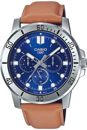Casio Men Watches - Enticer Men Blue Analogue Watch A1752 MTP-VD300L-2EUDF