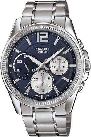 Casio Men Watches - Enticer Men Navy Blue Analogue watch A1660 MTP-E305HD-2AVIF