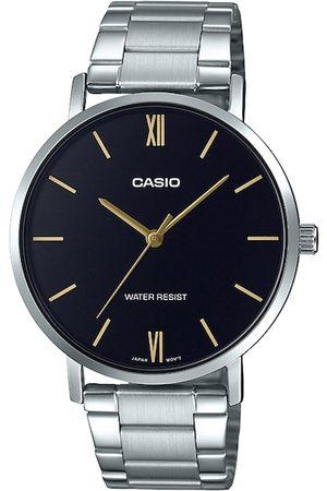 Casio Enticer Men Black Analogue watch A1612 MTP-VT01D-1BUDF